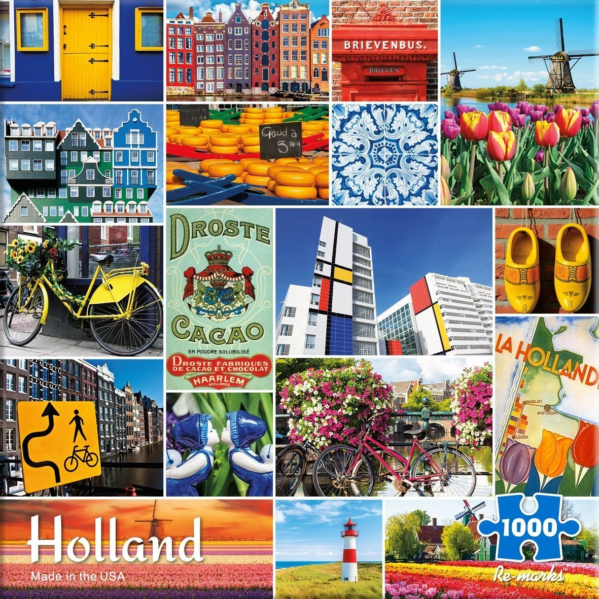 Holland - 1000pc Jigsaw Puzzle By Re-marks  			  					NEW