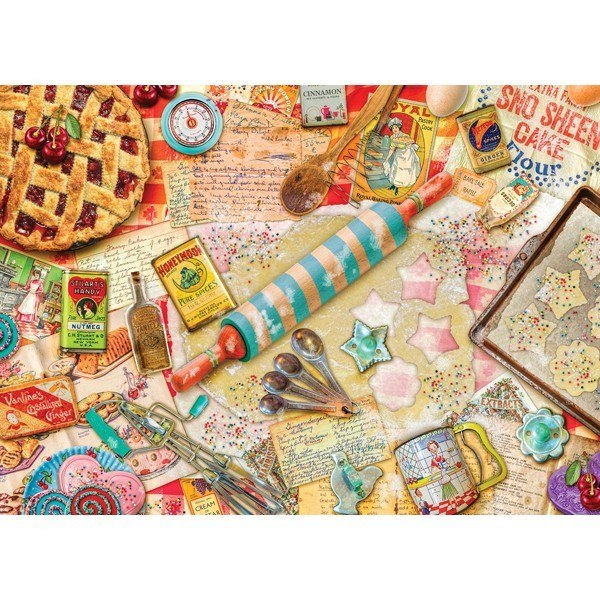 Treats N Treasures: Vintage Baker - 1000pc Jigsaw Puzzle by Holdson  			  					NEW