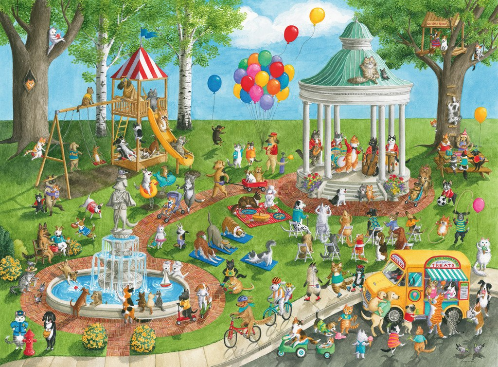 Pet Park - 300pc Jigsaw Puzzle By Ravensburger