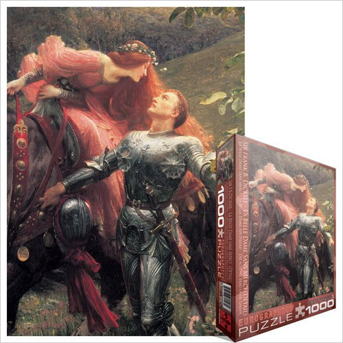 Dicksee: La Belle Dame Sans Merci - 1000pc Jigsaw Puzzle by Eurographics
