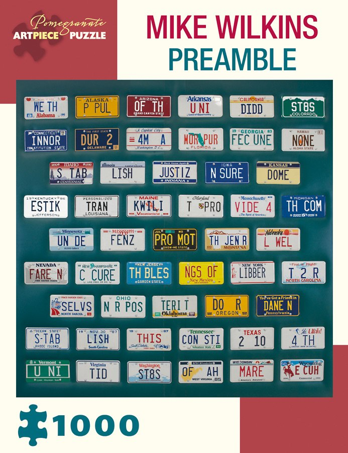 Wilkins: Preamble - 1000pc Jigsaw Puzzle by Pomegranate  			  					NEW