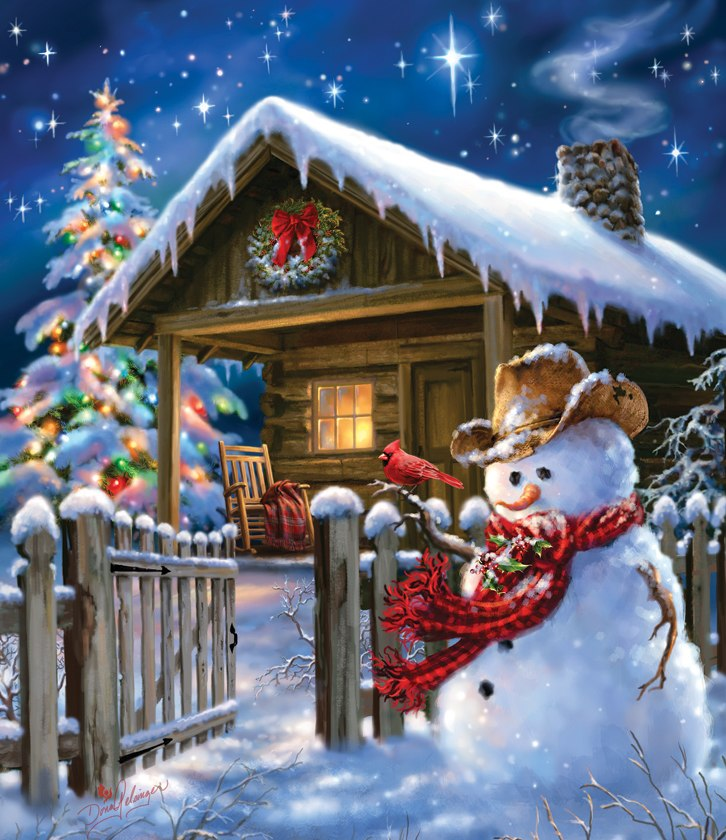 Christmas Cheer - 550pc Jigsaw Puzzle By Sunsout