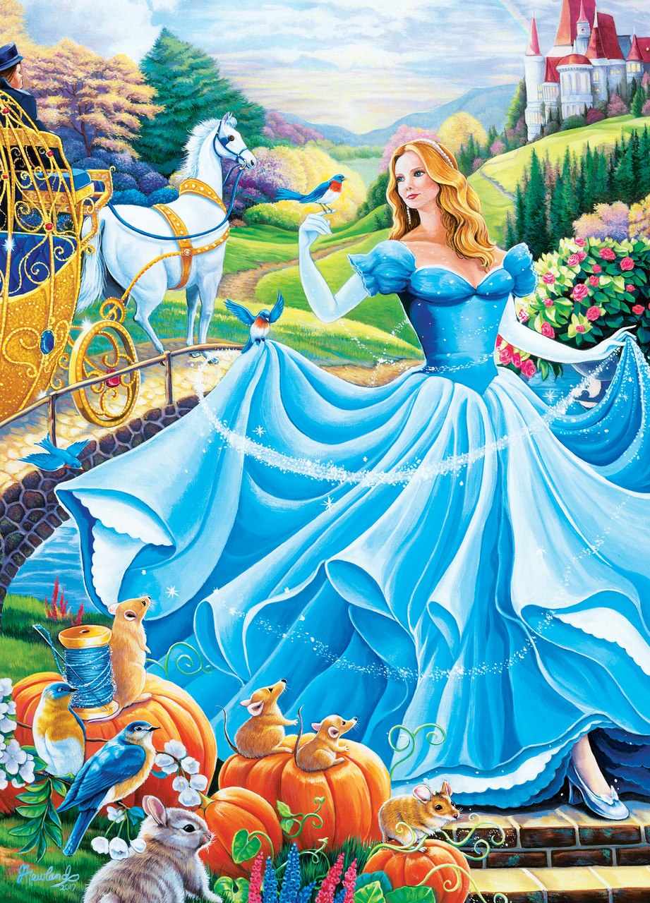 Book Box: Cinderella's Ball - 1000pc Jigsaw Puzzle by Masterpieces  			  					NEW