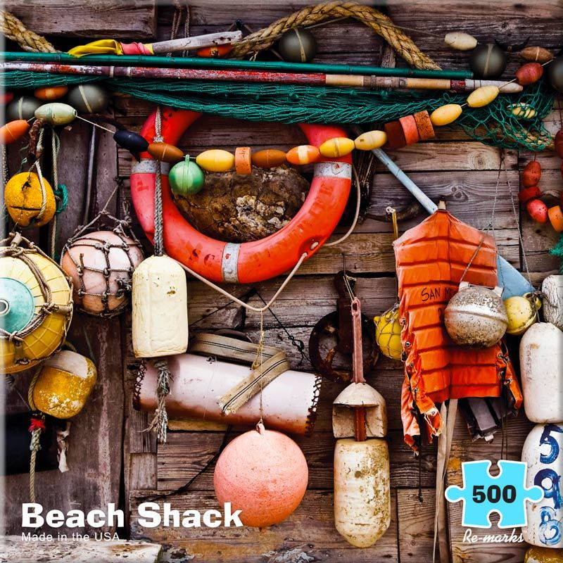 Beach Shack - 500pc Jigsaw Puzzle By Re-marks  			  					NEW