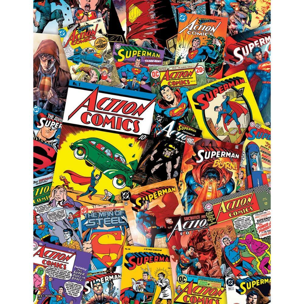DC: Superman - 1000pc Jigsaw Puzzle by Aquarius  			  					NEW