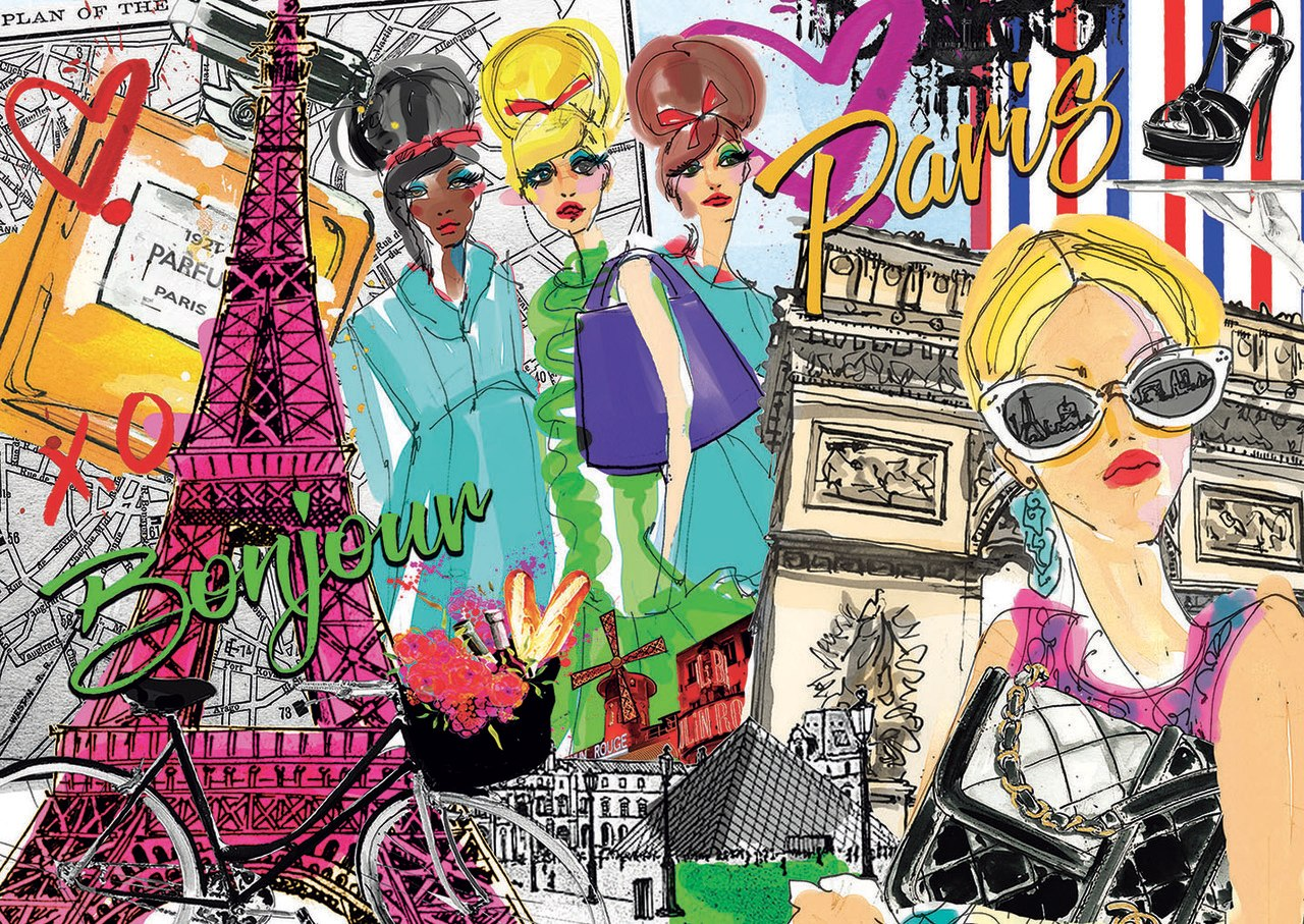 Take Me to Paris - 500pc Jigsaw Puzzle by Educa  			  					NEW