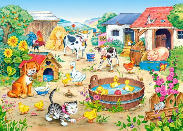 Farm - 60pc Jigsaw Puzzle By Castorland