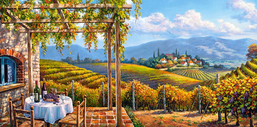 Vineyard Village - 4000pc Jigsaw Puzzle By Castorland  			  					NEW