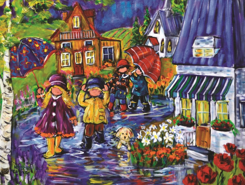 Mertikas: Enchanting Rains - 750pc Jigsaw Puzzle By Standout Puzzles  			  					NEW