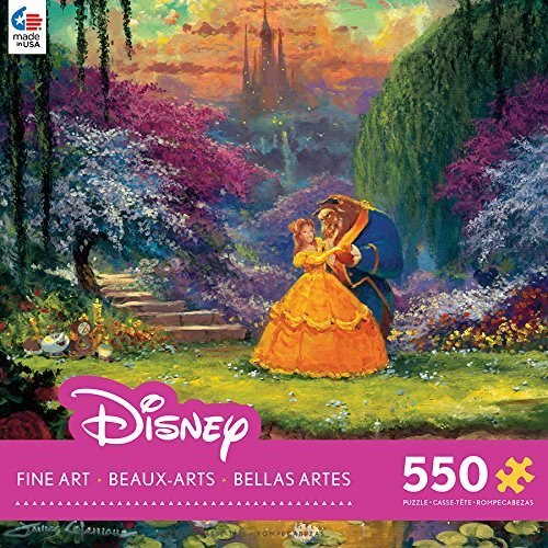 James Coleman: Beauty & the Beast Garden Waltz - 550pc Jigsaw Puzzle by Ceaco  			  					NEW
