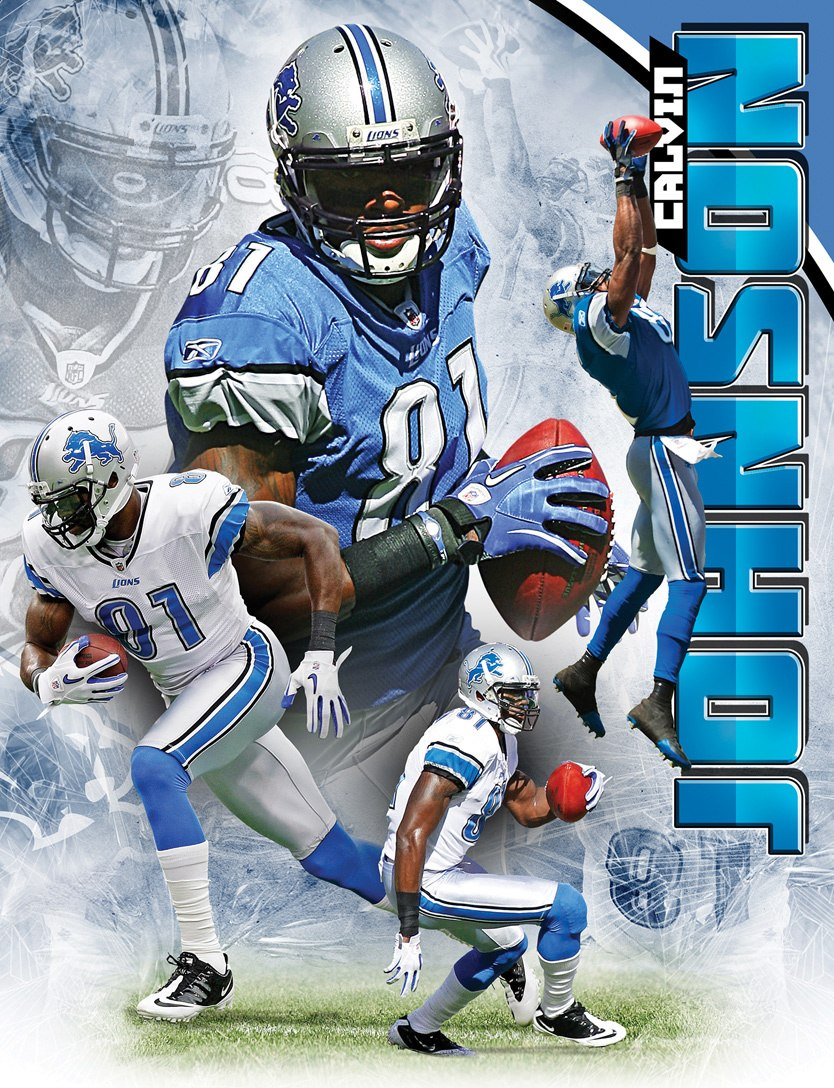 NFL: Calvin Johnson - 100pc Jigsaw Puzzle by Masterpieces