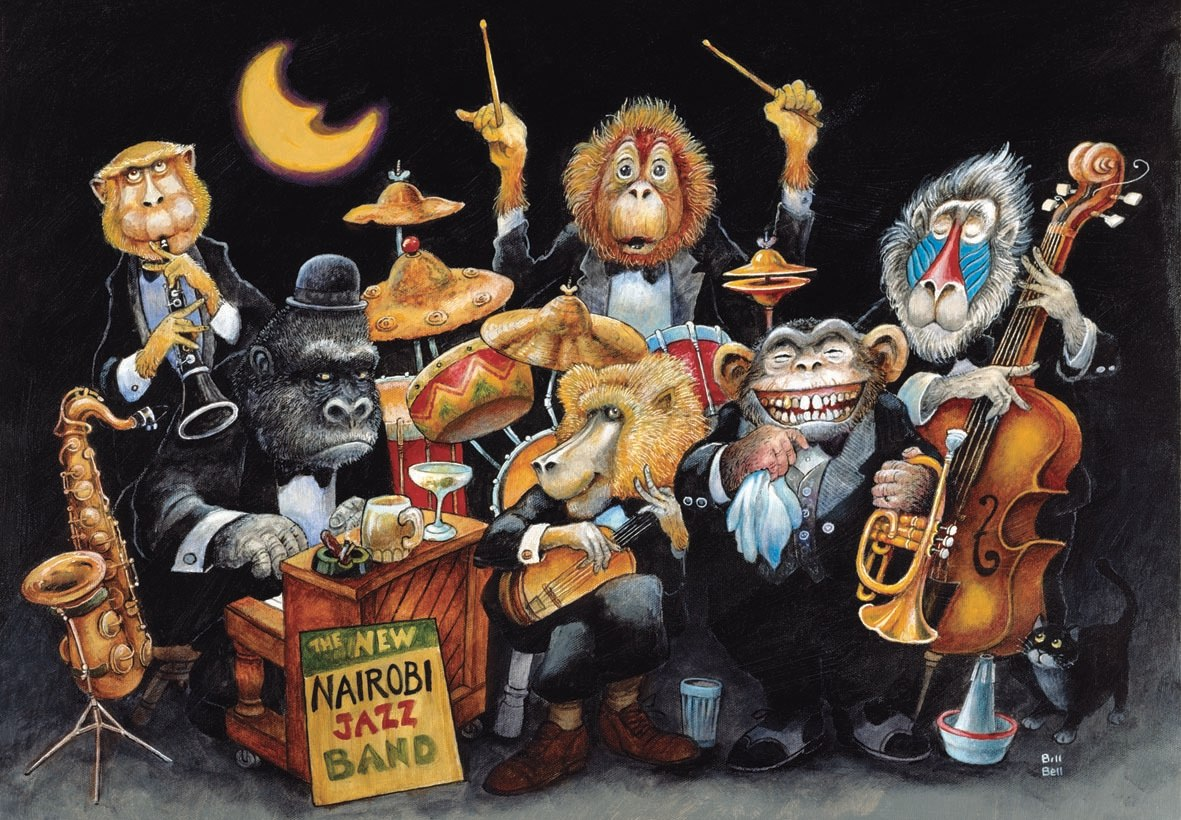 The New Nairobi Jazz Band - 500pc Jigsaw Puzzle by Anatolian