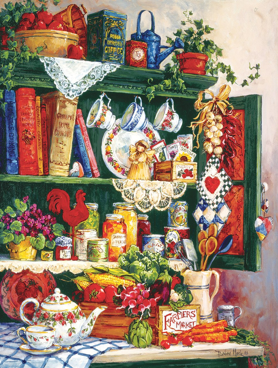 Grandma's Cupboard 300 - 300pc Jigsaw Puzzle By Sunsout  			  					NEW