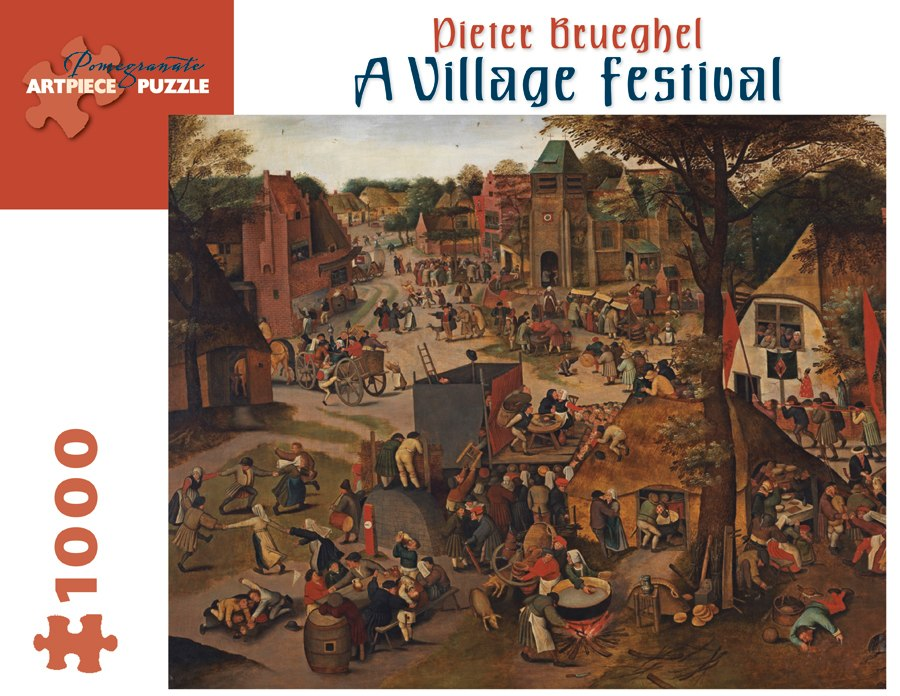 Brueghel: Village Festival - 1000pc Jigsaw Puzzle by Pomegranate