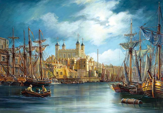 New Day at the Harbor - 3000pc Hard Jigsaw Puzzle By Castorland