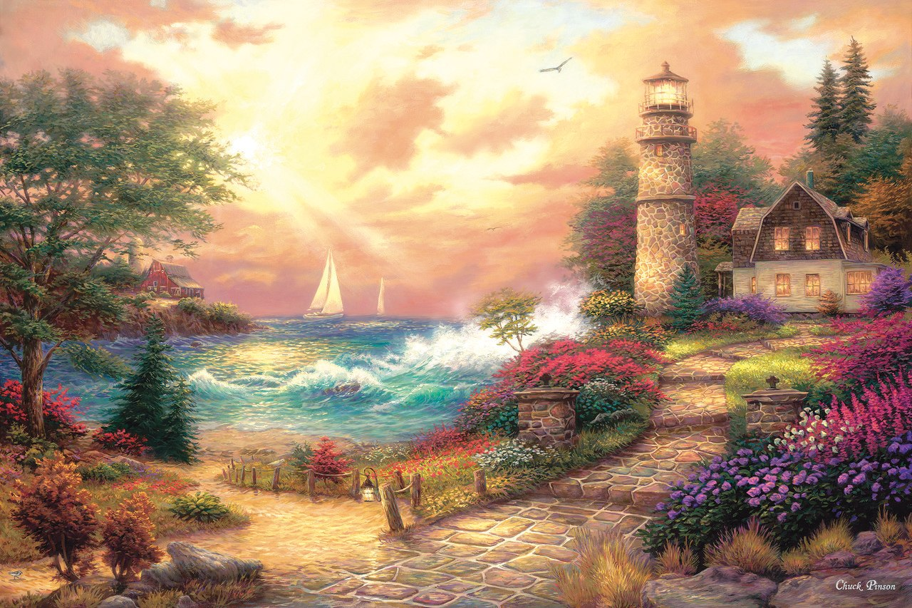 Seaside Dreams - 1000pc Jigsaw Puzzle By Sunsout  			  					NEW
