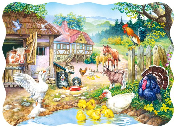 Farm - 30pc Jigsaw Puzzle By Castorland