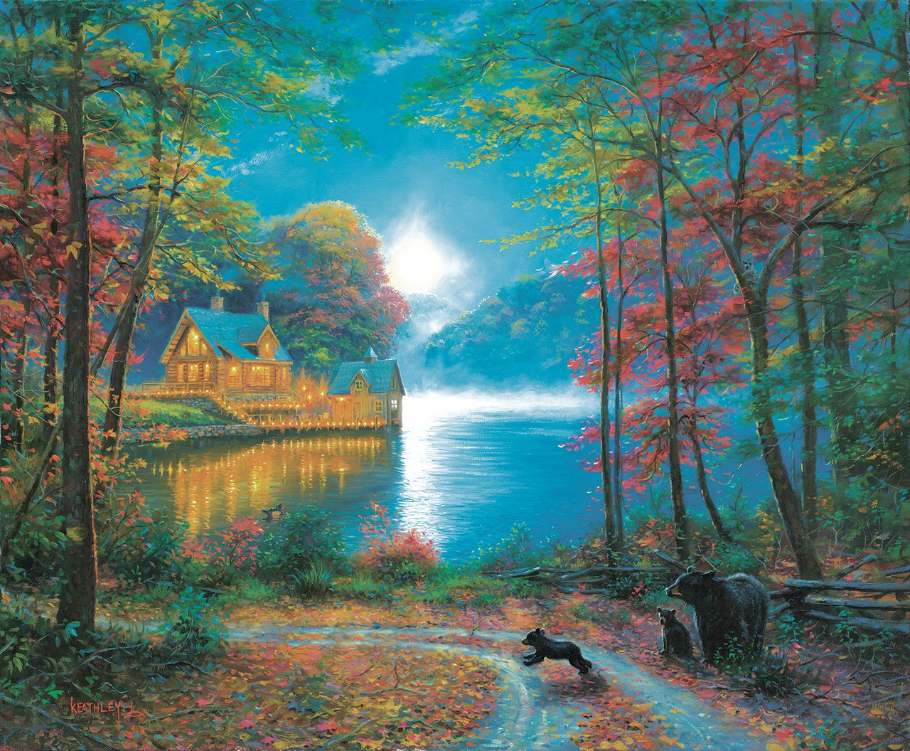 Lakeside Dreams - 1000pc Jigsaw Puzzle By Sunsout  			  					NEW