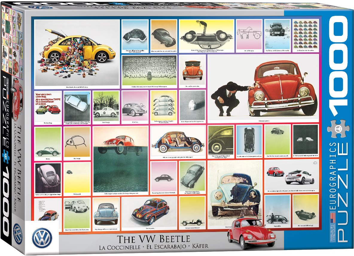 The VW Beetle - 1000pc Jigsaw Puzzle by Eurographics