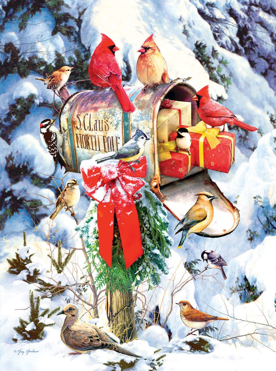 Santa's Mailbox - 1000pc Jigsaw Puzzle by SunsOut