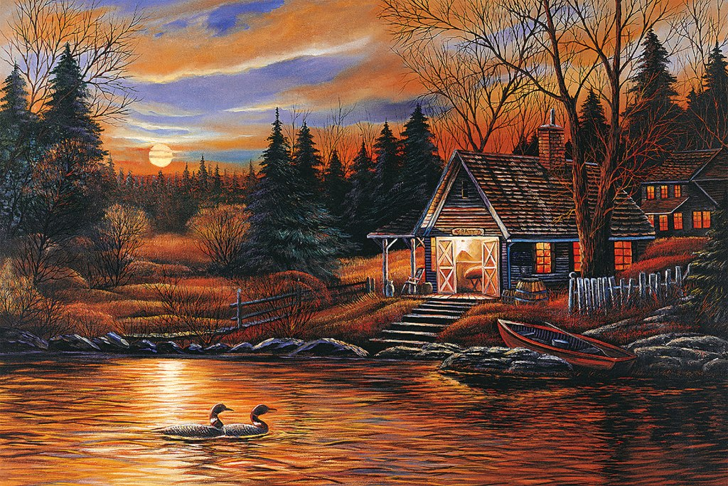 Romantic Scenery - 1500pc Jigsaw Puzzle by Tomax
