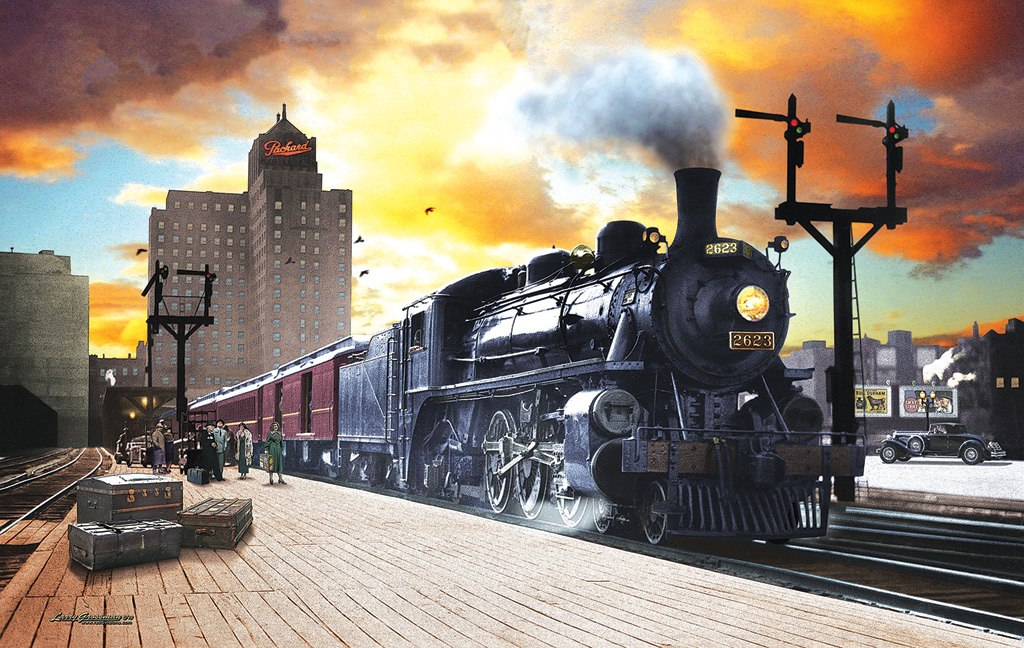 Canadian Pacific - 550pc Jigsaw Puzzle by SunsOut