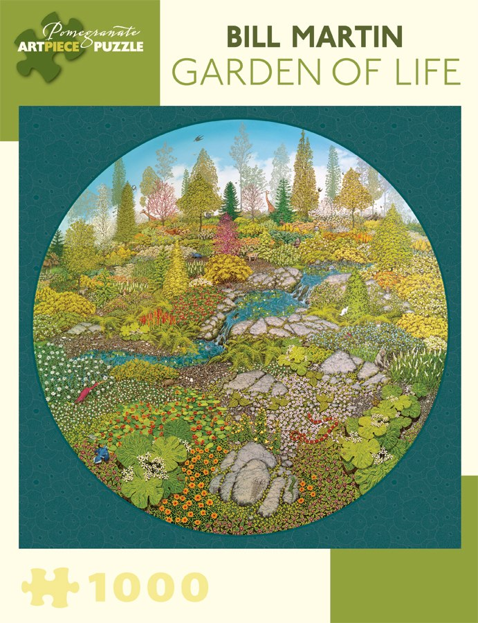 Martin: Garden of Life - 1000pc Jigsaw Puzzle by Pomegranate