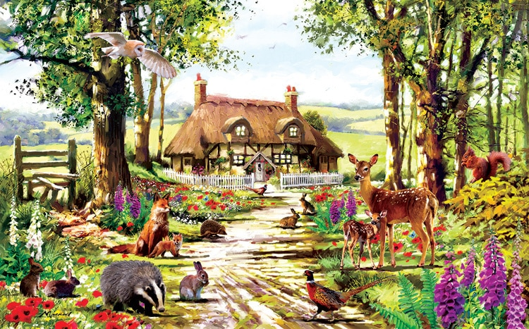 Wildlife Study - 300pc Jigsaw Puzzle By Sunsout