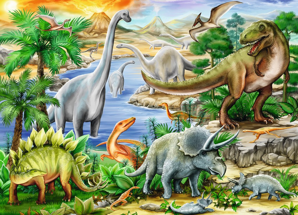 Prehistoric Life - 60pc by Ravensburger
