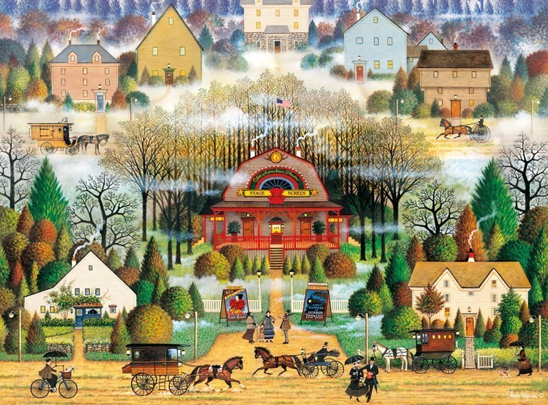 Melodrama in the Mist - 1000pc Jigsaw Puzzle by Buffalo Games