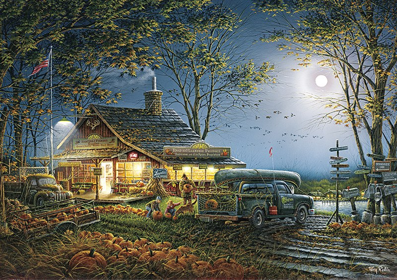Autumn Traditions - 300pc Large Format Jigsaw Puzzle By Buffalo Games  			  					NEW