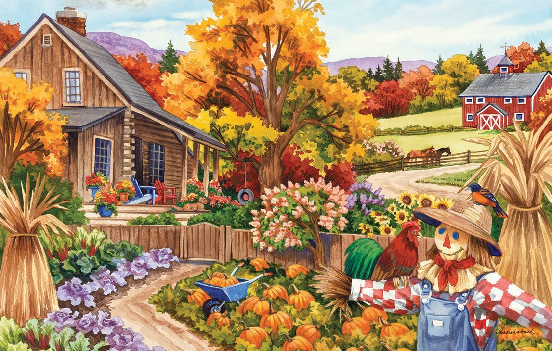 Livin in the Country - 100pc Jigsaw Puzzle by SunsOut