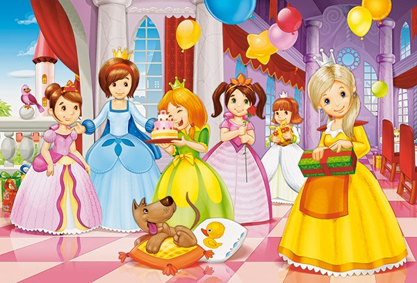 Princess Party - 40pc Jigsaw Puzzle By Castorland