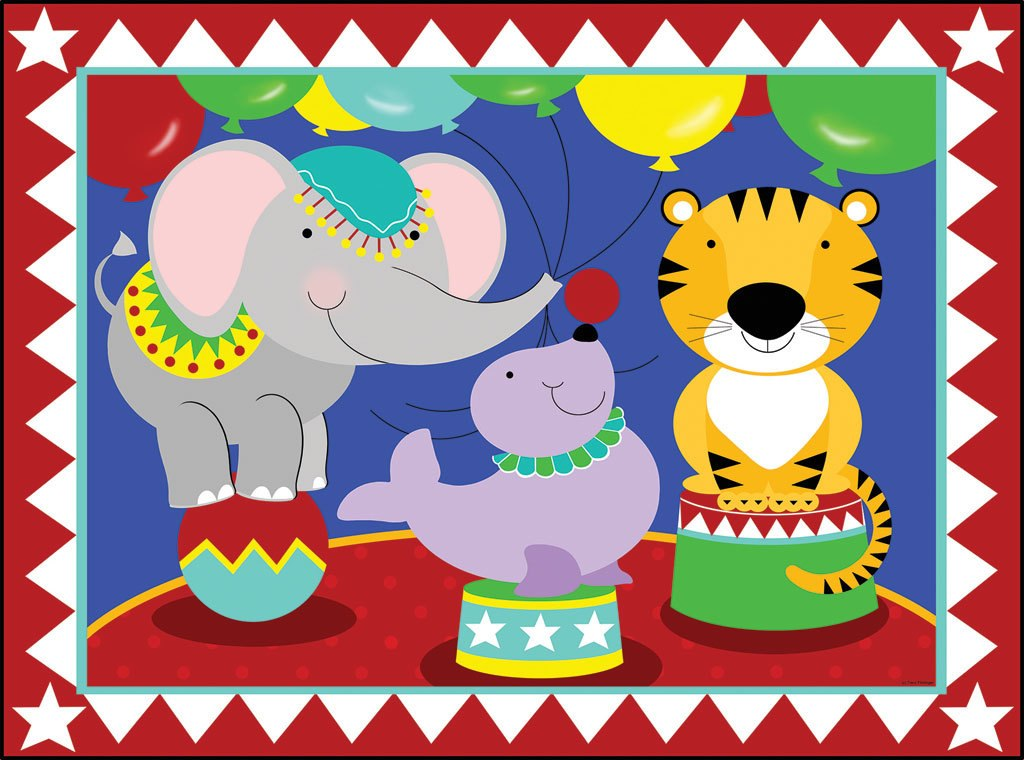 Birthday Circus - 63pc Jigsaw Puzzle by Sunsout