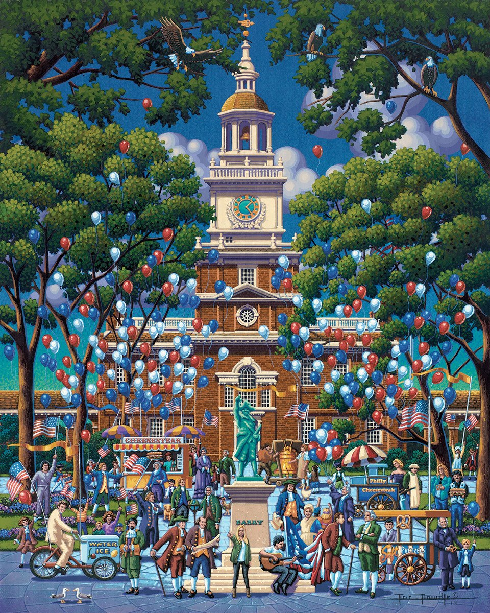 Independence Hall - 500pc Jigsaw Puzzle by Dowdle  			  					NEW