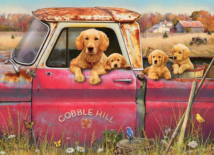 Cobble Hill Farm - 1000pc Jigsaw Puzzle by Cobble Hill  			  					NEW