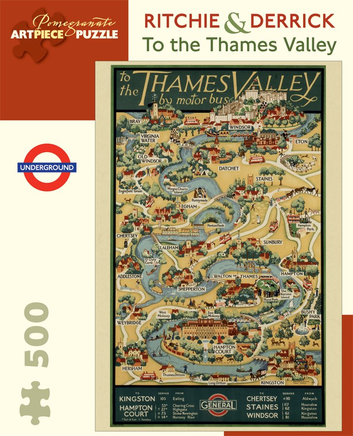 Thames Valley - 500pc Jigsaw Puzzle by Pomegranate