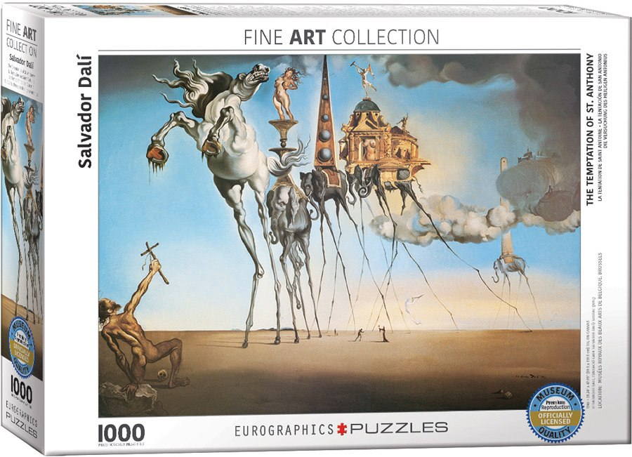 Salvador Dali: The Temptation of St. Anthony - 1000pc Jigsaw Puzzle by Eurographics