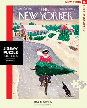 Tree Shopping - 1000pc Jigsaw Puzzle by New York Puzzle Co.
