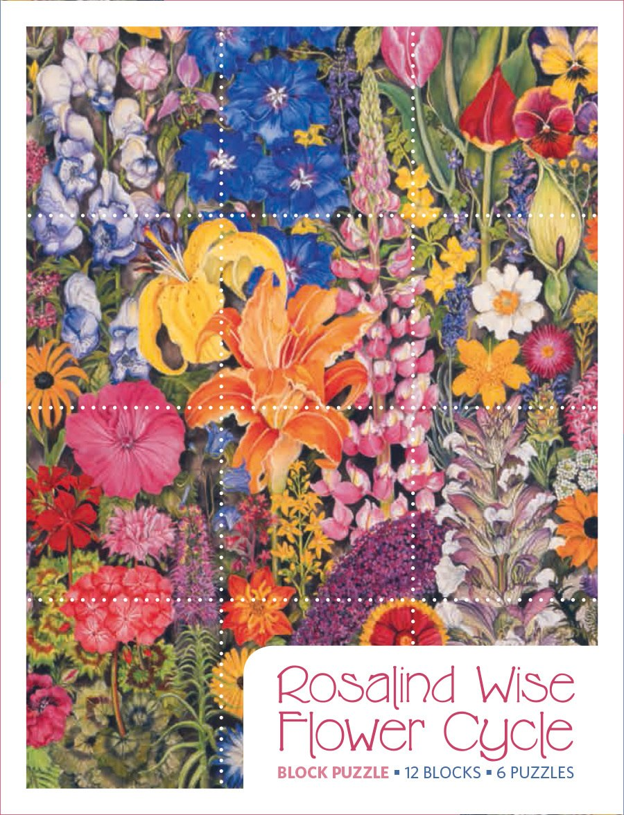 Wise: Flower Cycle - 12pc Block by Pomegranate  			  					NEW