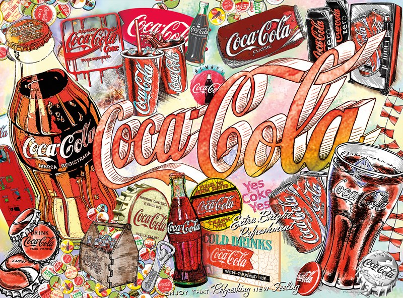 Coca-Cola: Enjoy Coca-Cola - 1000pc Jigsaw Puzzle by Buffalo Games  			  					NEW