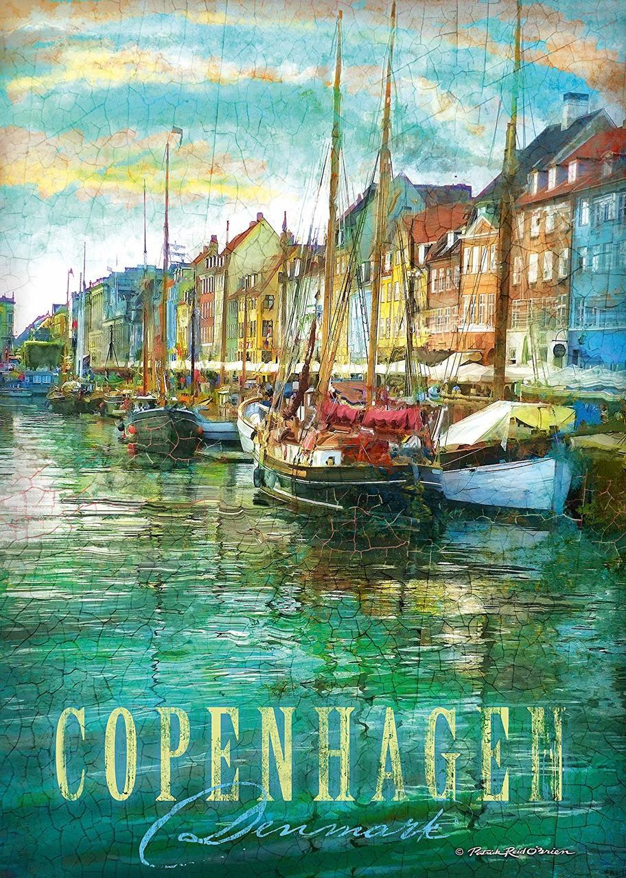 Copenhagen - 1000pc Jigsaw Puzzle by Schmidt  			  					NEW