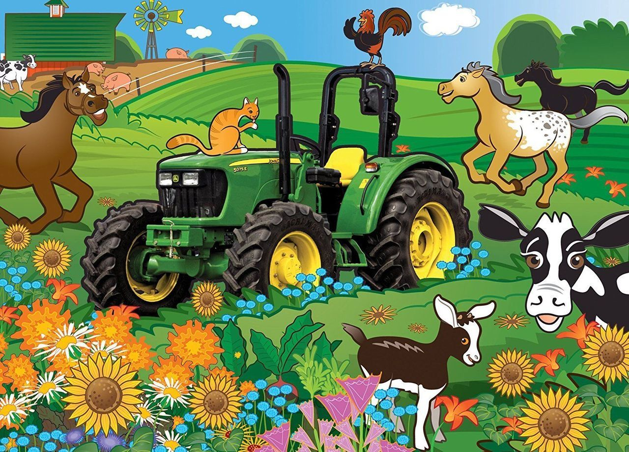 Springtime Romp - 60pc Kids Puzzle by MasterPieces