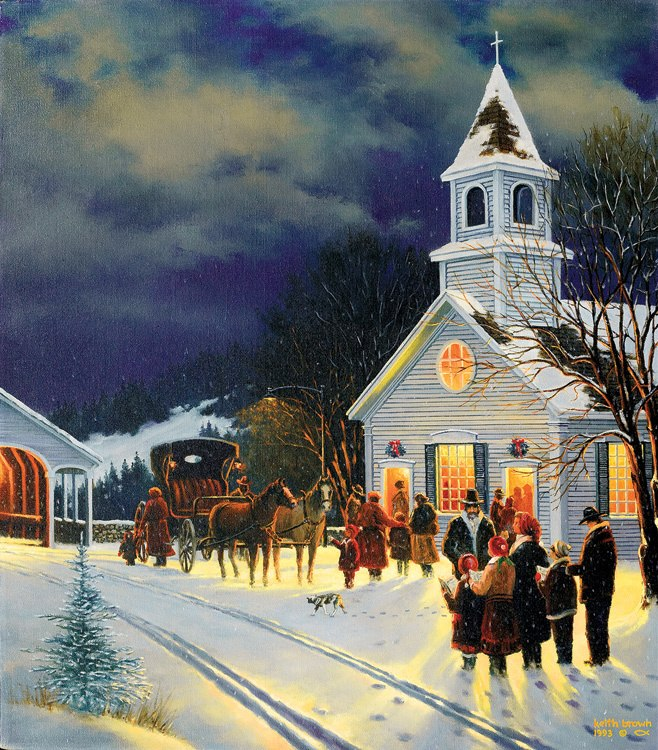 Winter Worship - 300pc Large Format Jigsaw Puzzle By Sunsout