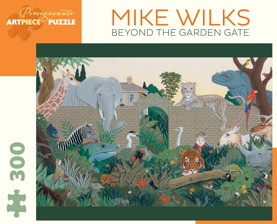 Wilks: Beyond the Garden Gate - 300pc Jigsaw Puzzle by Pomegranate  			  					NEW