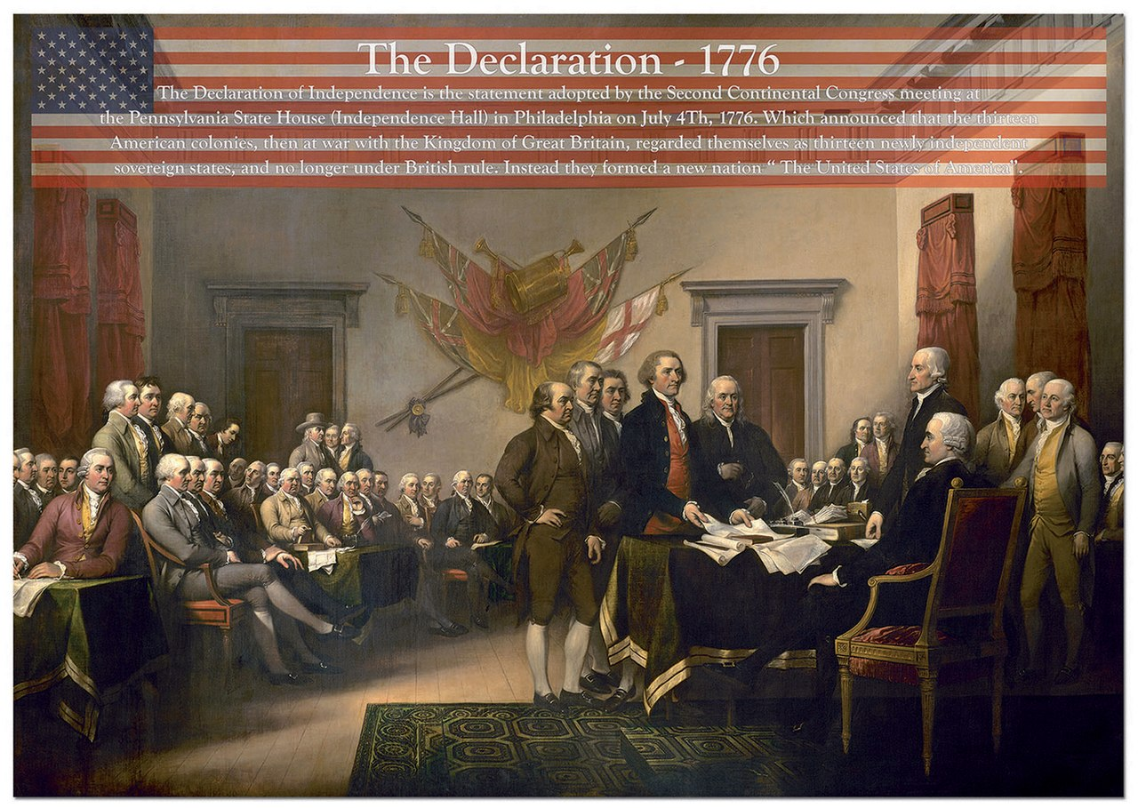 The Declaration - 1000pc Jigsaw Puzzle by Educa  			  					NEW