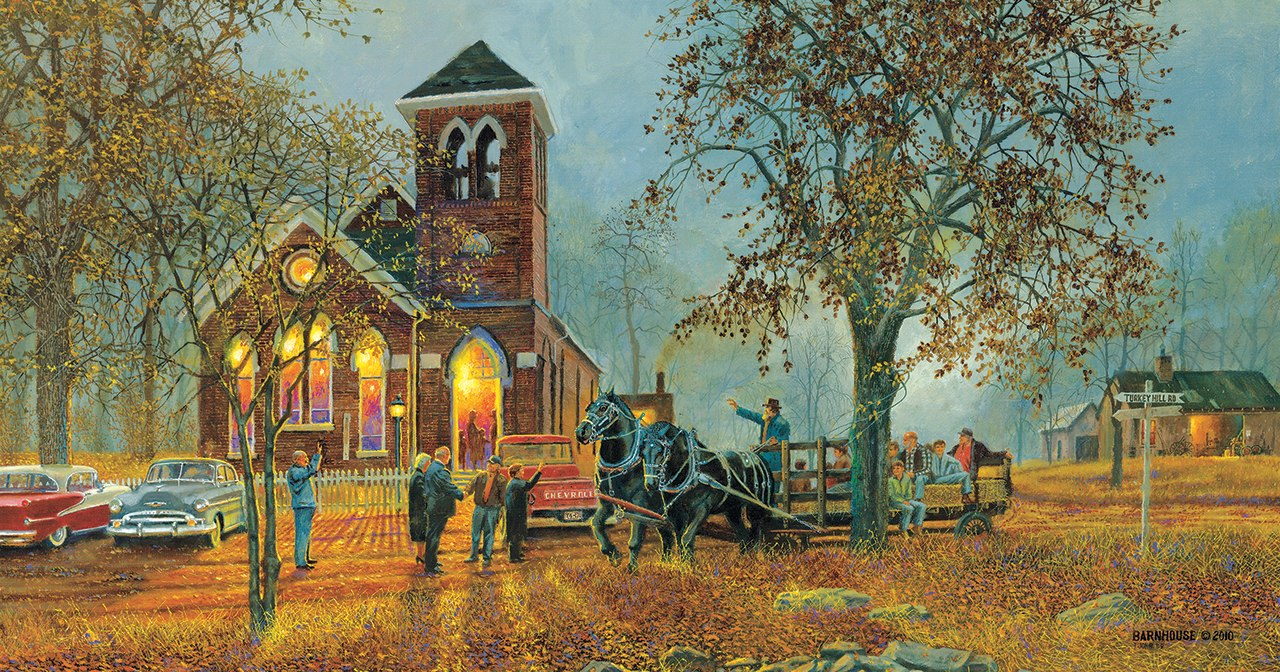 Old Fashioned Hayride - 1000pc Jigsaw Puzzle by Sunsout  			  					NEW