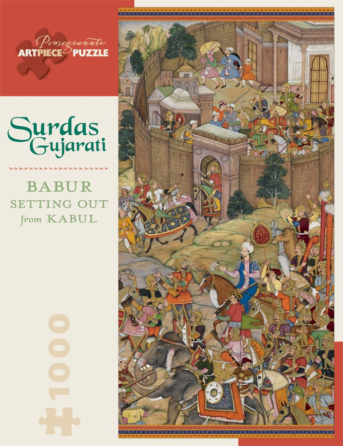 Gujarati: Babur Setting Out - 1000pc Jigsaw Puzzle by Pomegranate