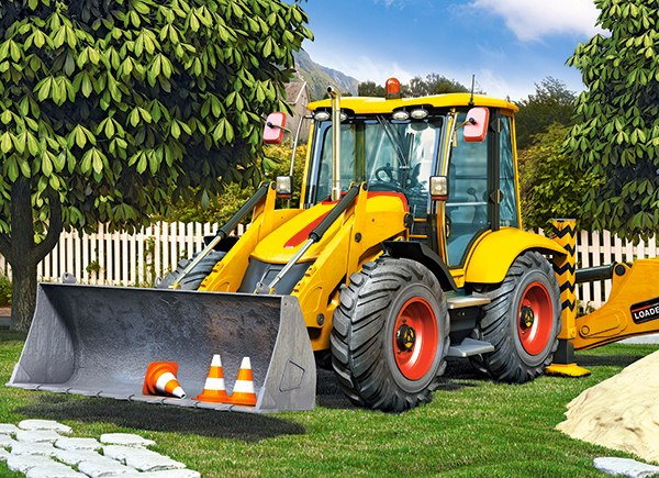 Compact Loader - 300pc Jigsaw Puzzle By Castorland