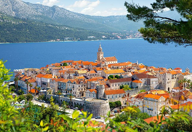 Korcula, Croatia - 3000pc Jigsaw Puzzle By Castorland